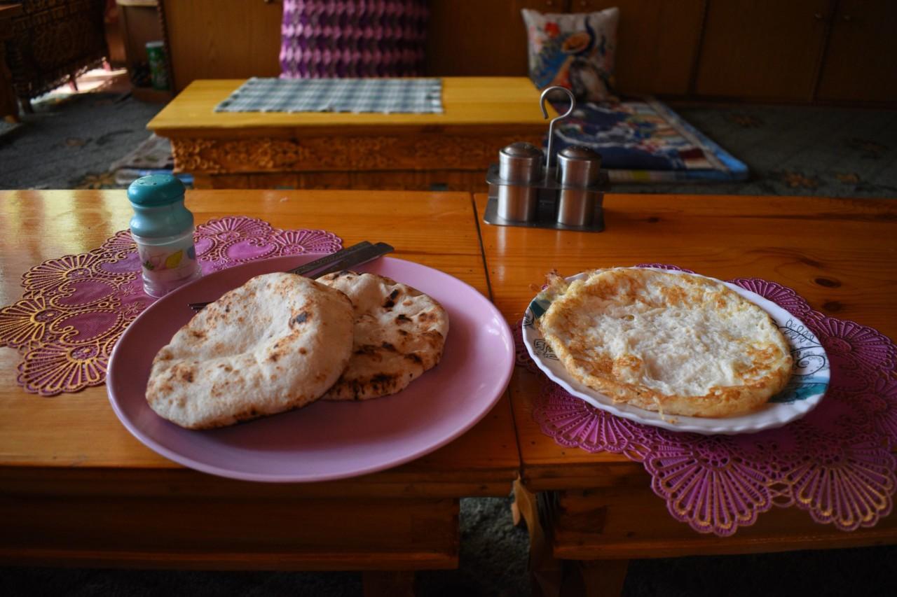 Omelette mit Roti